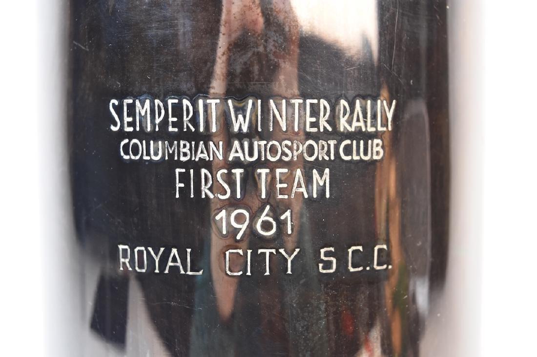 1961 Semperit Winter Rally Columbian Autosport Club - 2