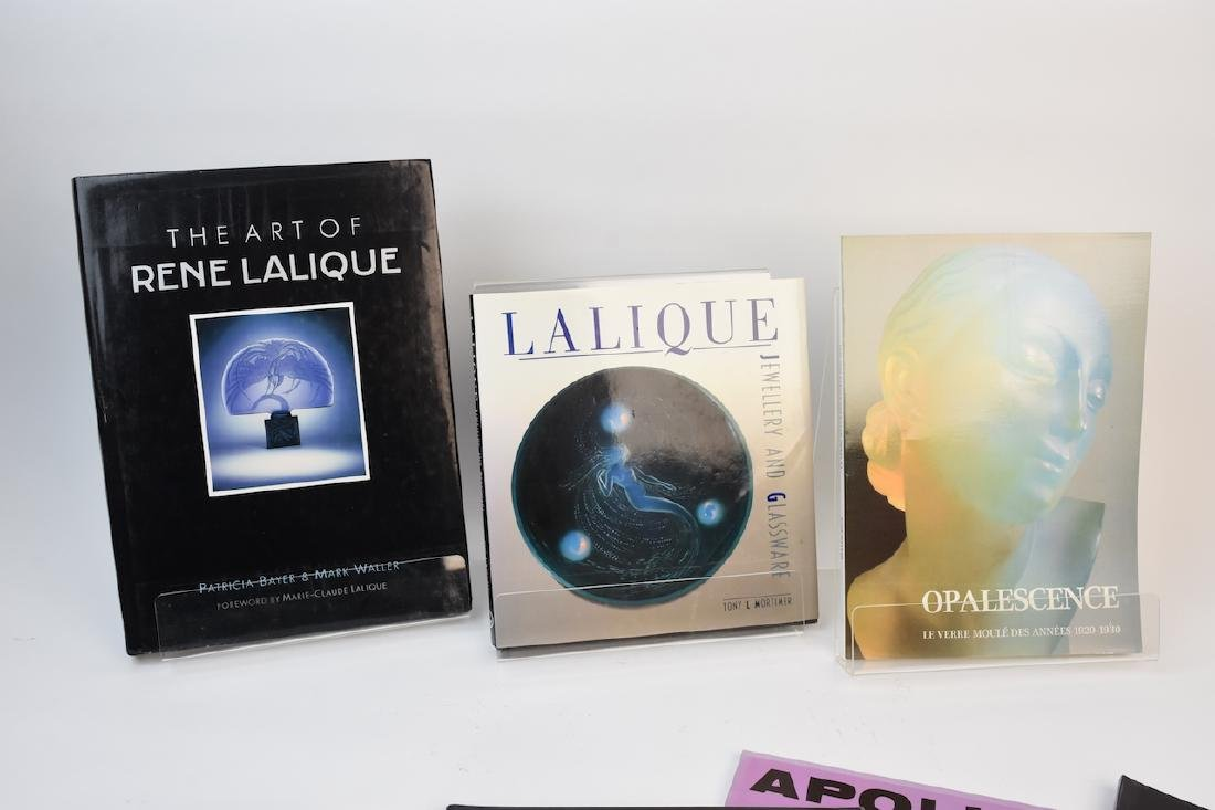 Lalique Coffee Table Reference Books - 2