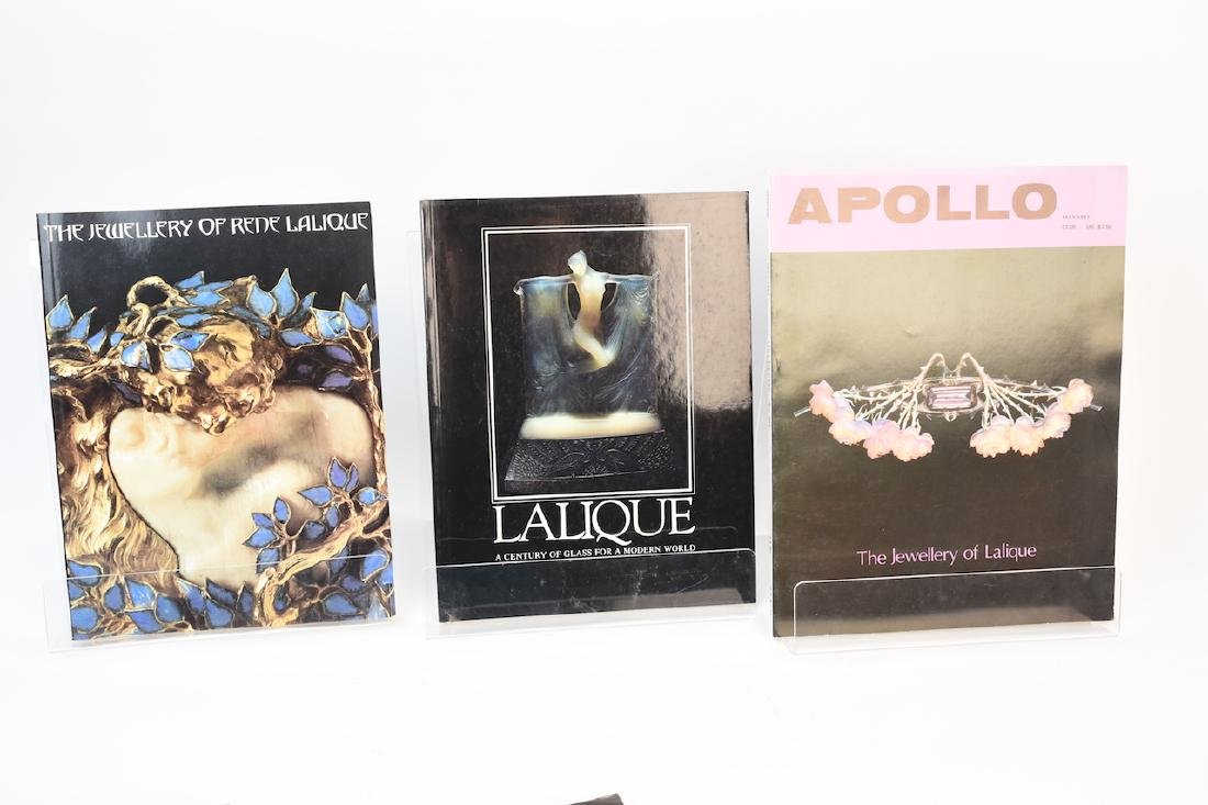 Lalique Coffee Table Reference Books - 3