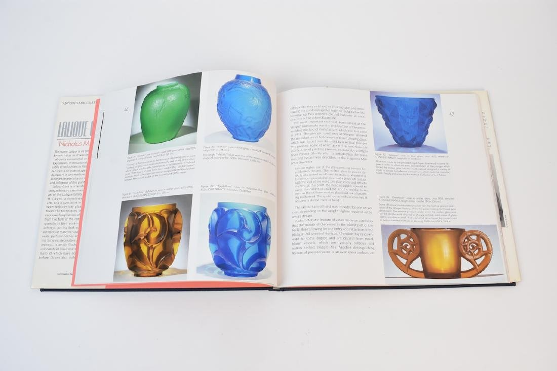 Lalique Coffee Table Reference Books - 4