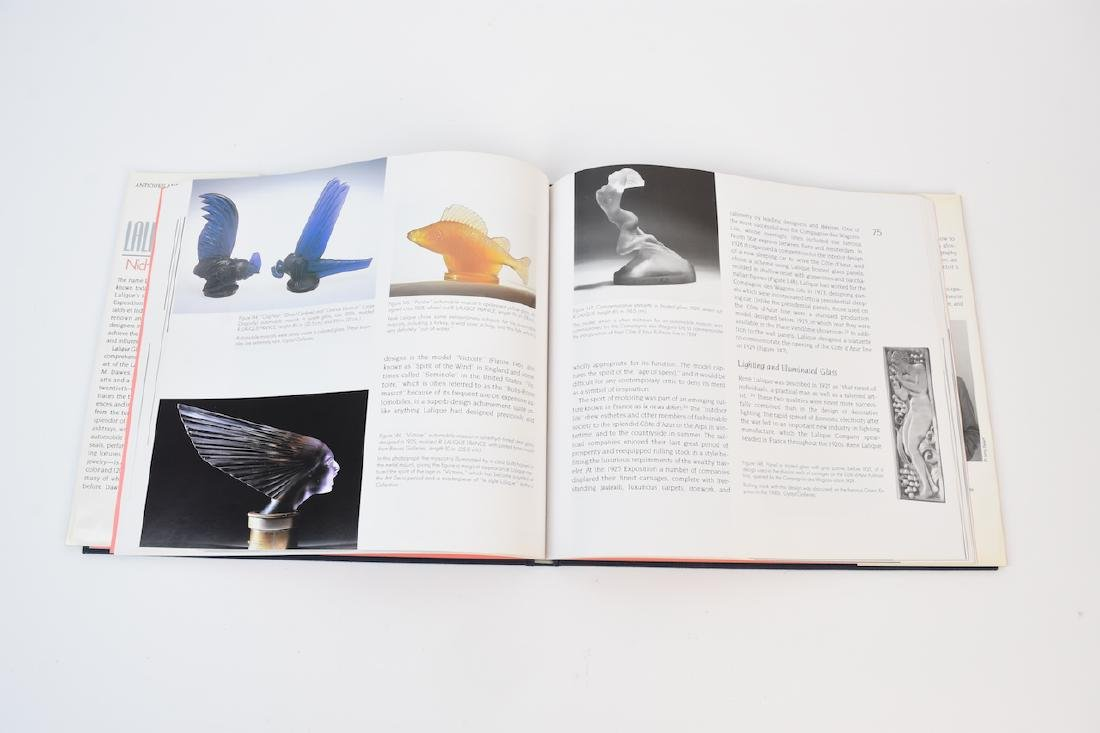 Lalique Coffee Table Reference Books - 5