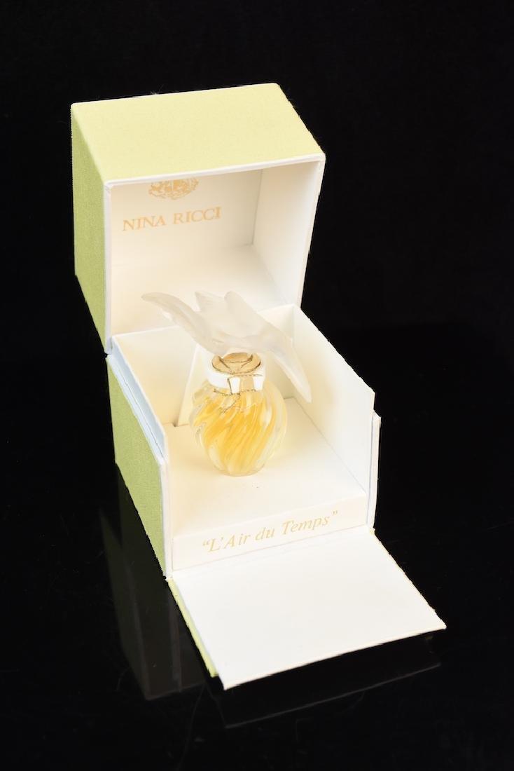 Nina Ricci Perfume in Lalique Bottle
