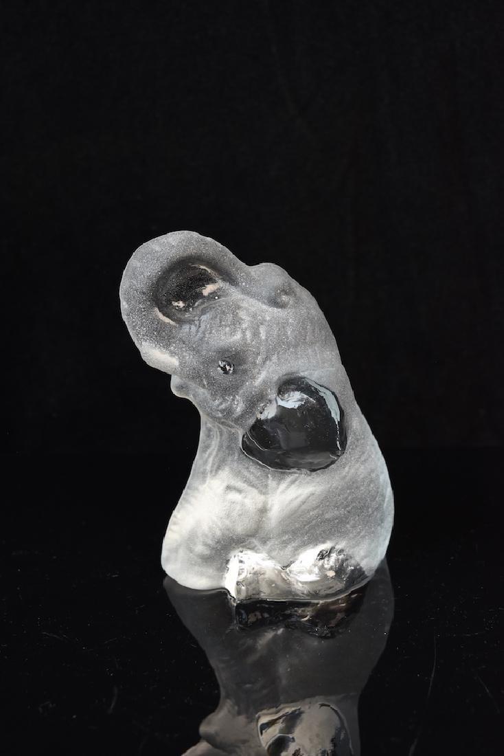 (3) Elephant Figurals, Galvan & Jonasson Signed Pieces - 8