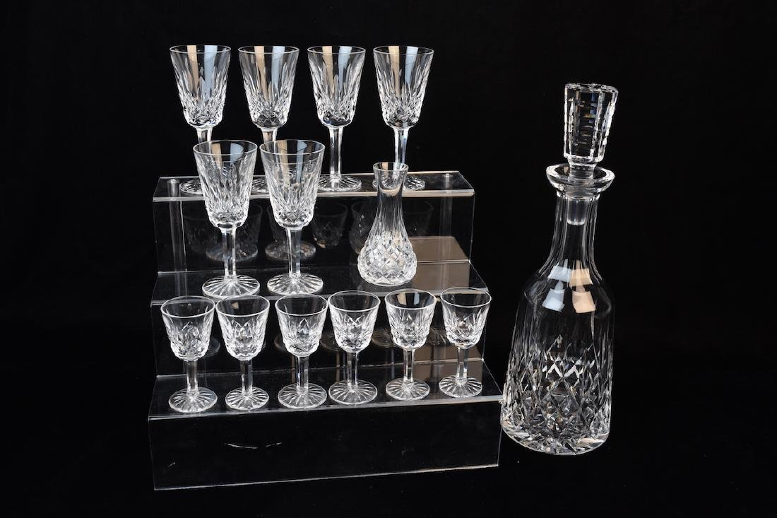 Waterford Crystal Decanter & Stemware