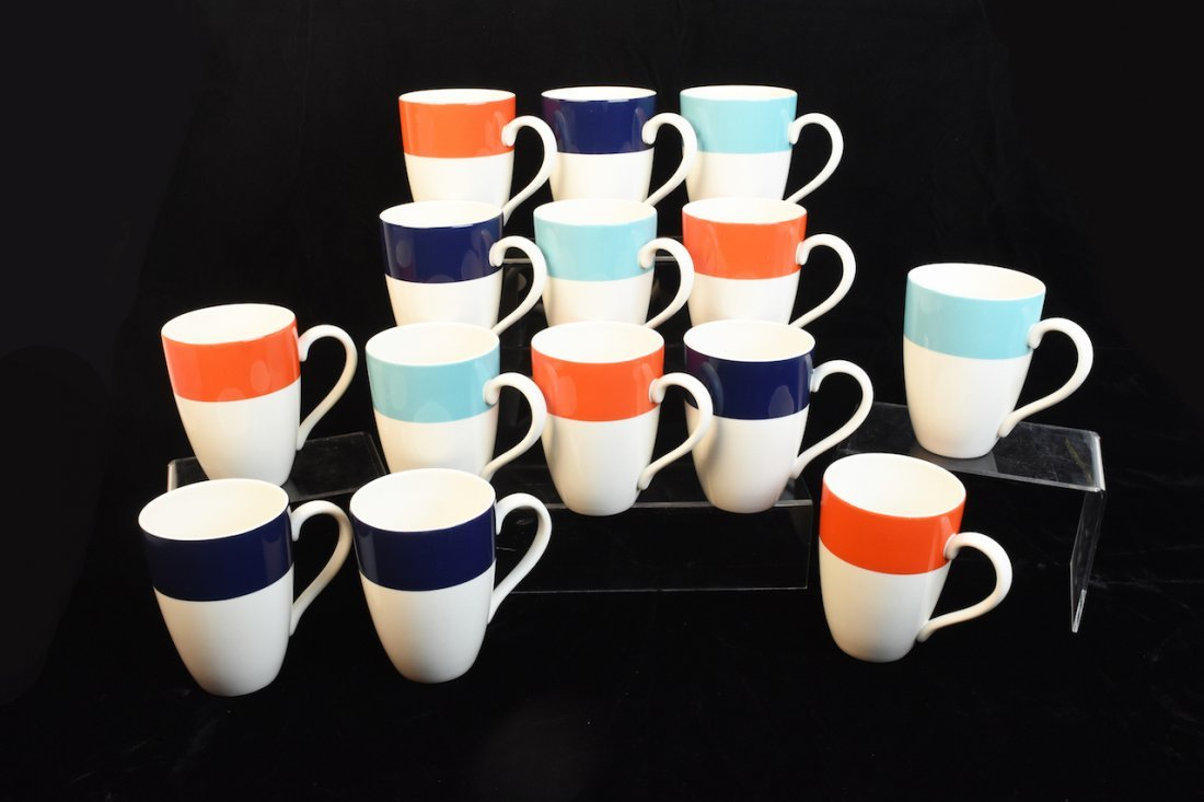(14) Lenox Continental Dining Coffee Mugs