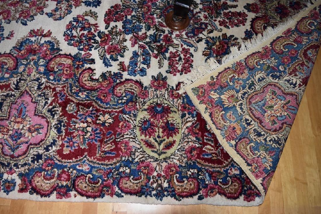 Kirman Persian Hand Woven Rug, 14' x 9' - 2
