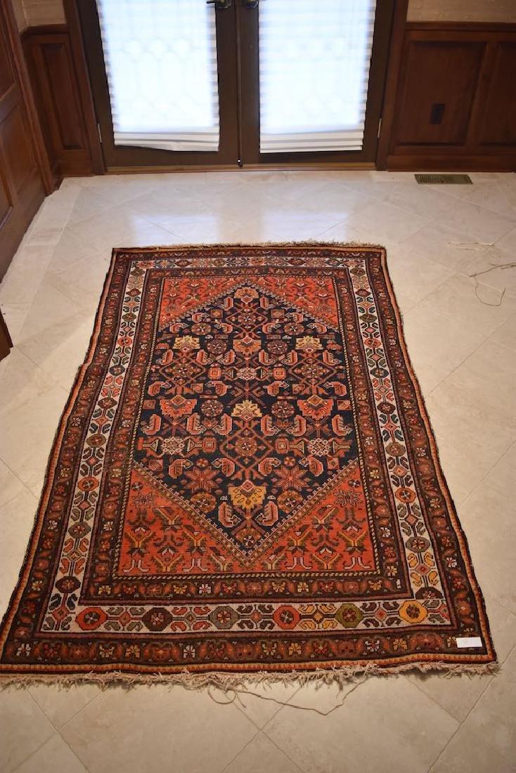"""Hamedan Persian Rug, 6' 2"""" x 4' 3"""""""