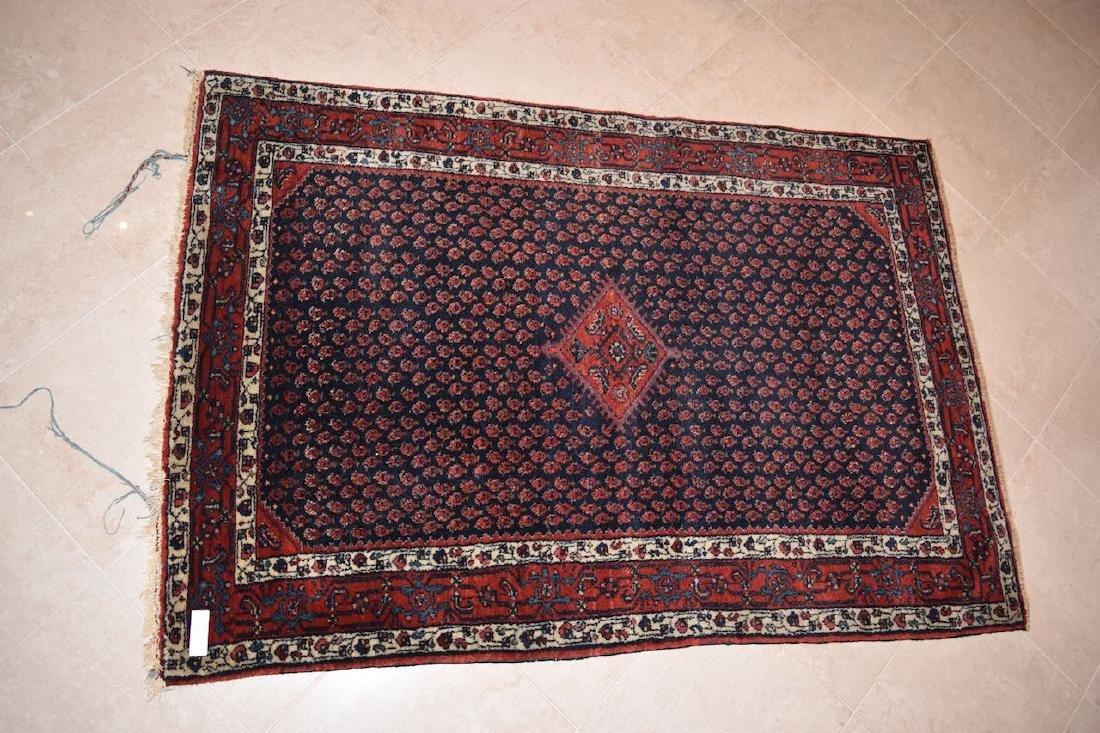"""Persian Saraband Hand Woven Rug, 5' x 3' 5"""""""