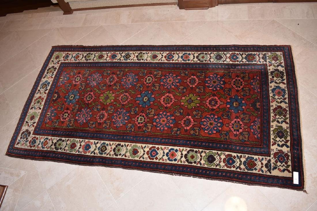 "Persian Hand Woven Rug, 6' 7"" x 3' 4"""