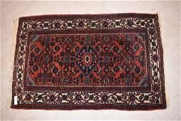 Persian Hamadan Hand Woven Rug 3 11 x 2 7