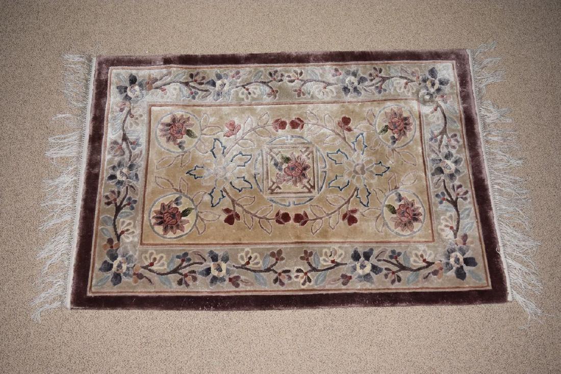 "Tabriz Hand Woven in India Rug, 5' 1"" x 3'"