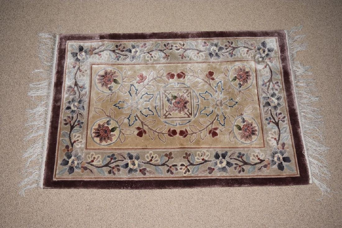 "Tabriz Hand Woven in India Rug, 5' 1"" x 3'"