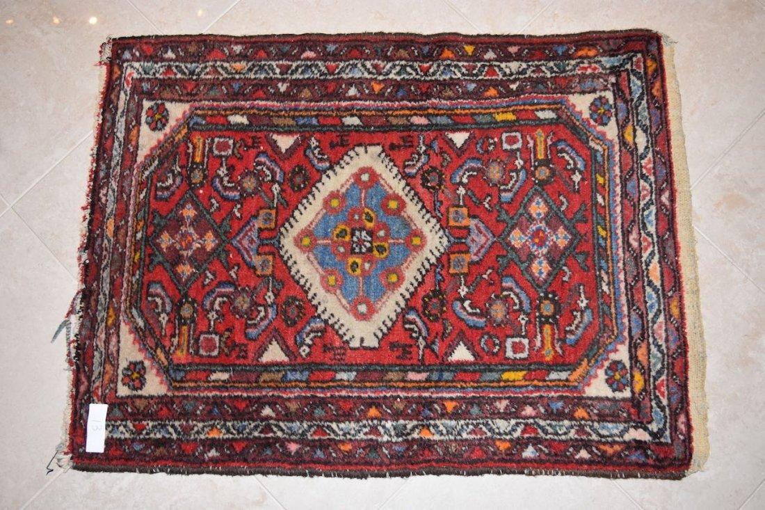 Persian Hamedan Hand Woven Rug