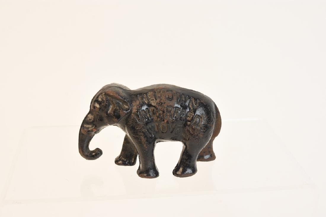 Independent Stove Co. Elephant Paperweight