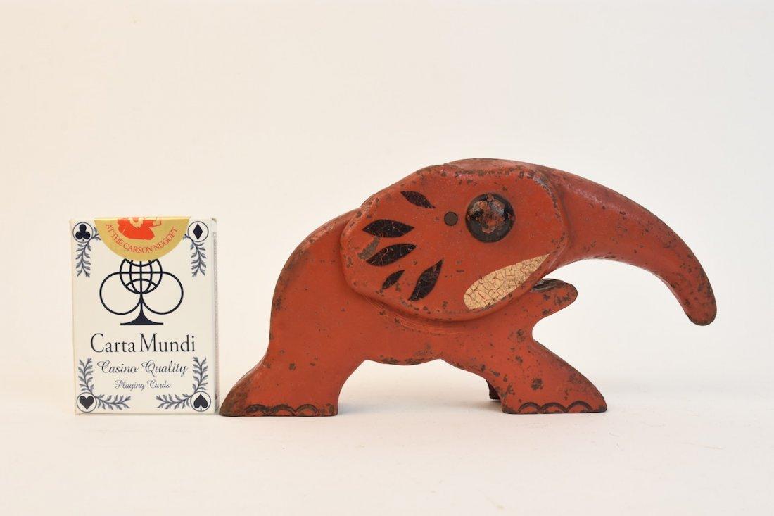 Antique Elephant Nut Cracker, Vindex - 2