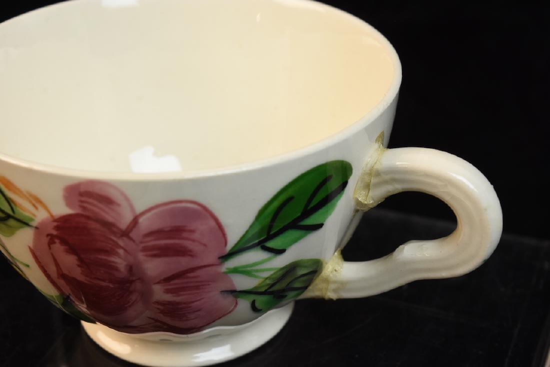 """Blue Ridge Pottery """"Tiger Lily"""" Pattern 3769 China - 10"""