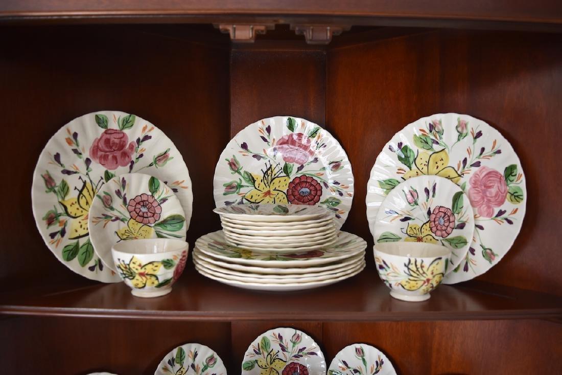 """Blue Ridge Pottery """"Tiger Lily"""" Pattern 3769 China - 2"""