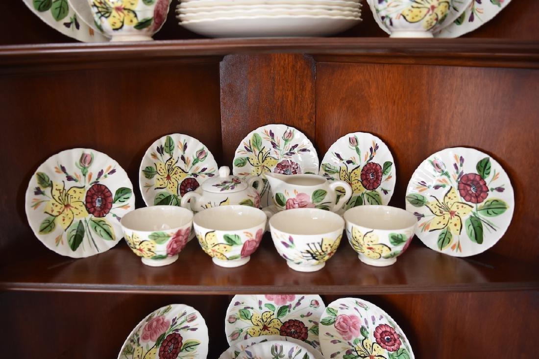 """Blue Ridge Pottery """"Tiger Lily"""" Pattern 3769 China - 3"""
