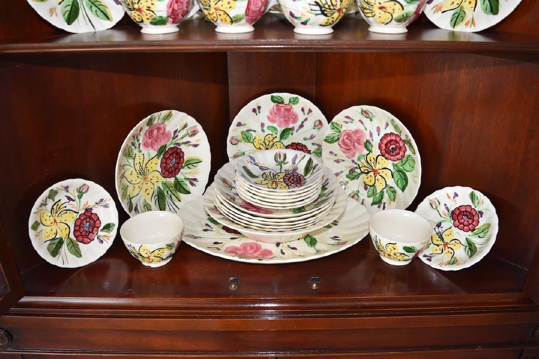 """Blue Ridge Pottery """"Tiger Lily"""" Pattern 3769 China - 4"""