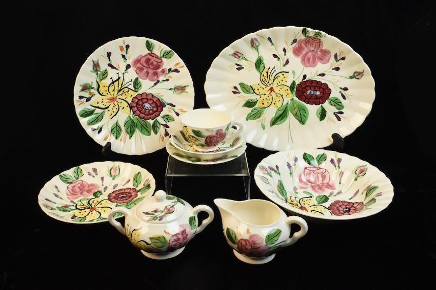 """Blue Ridge Pottery """"Tiger Lily"""" Pattern 3769 China - 5"""