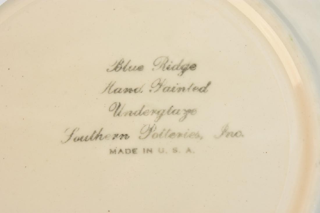 """Blue Ridge Pottery """"Tiger Lily"""" Pattern 3769 China - 7"""