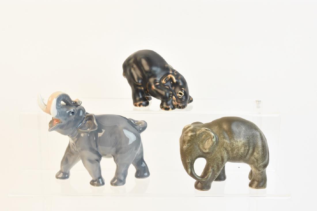 Royal Copenhagen & Johgus Bornholm Elephants