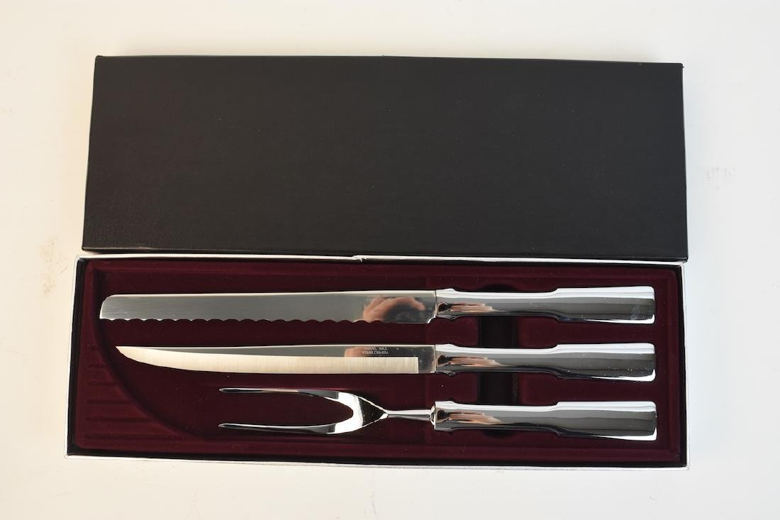 Carvel Hall Towle Silver Co. 3 Pc. Carving Knife