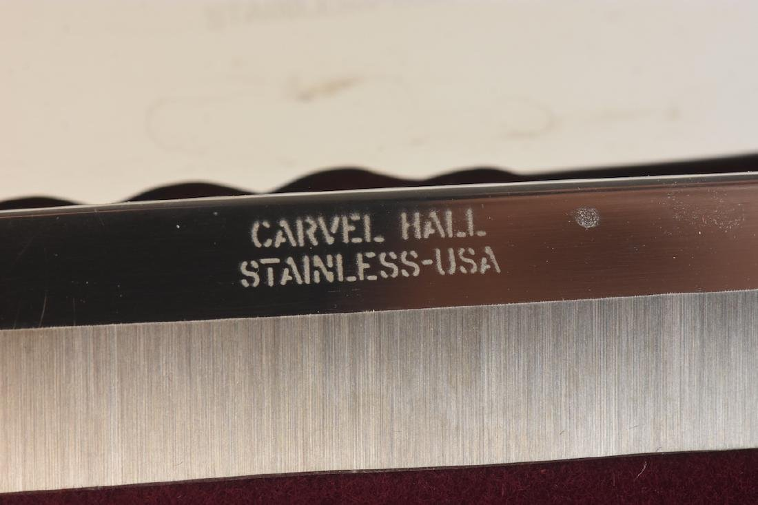 Carvel Hall Towle Silver Co. 3 Pc. Carving Knife - 2