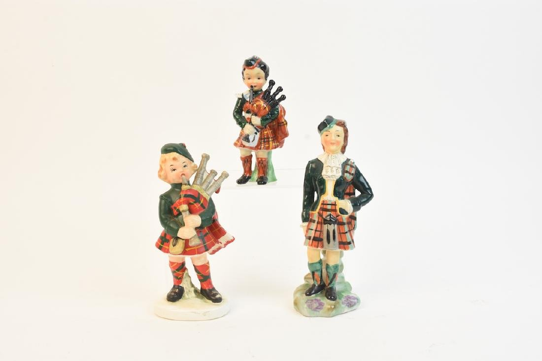 (3) Scottish Porcelain Figurines