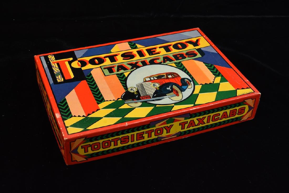 Art Deco Graham Tootsietoy Taxicab Box