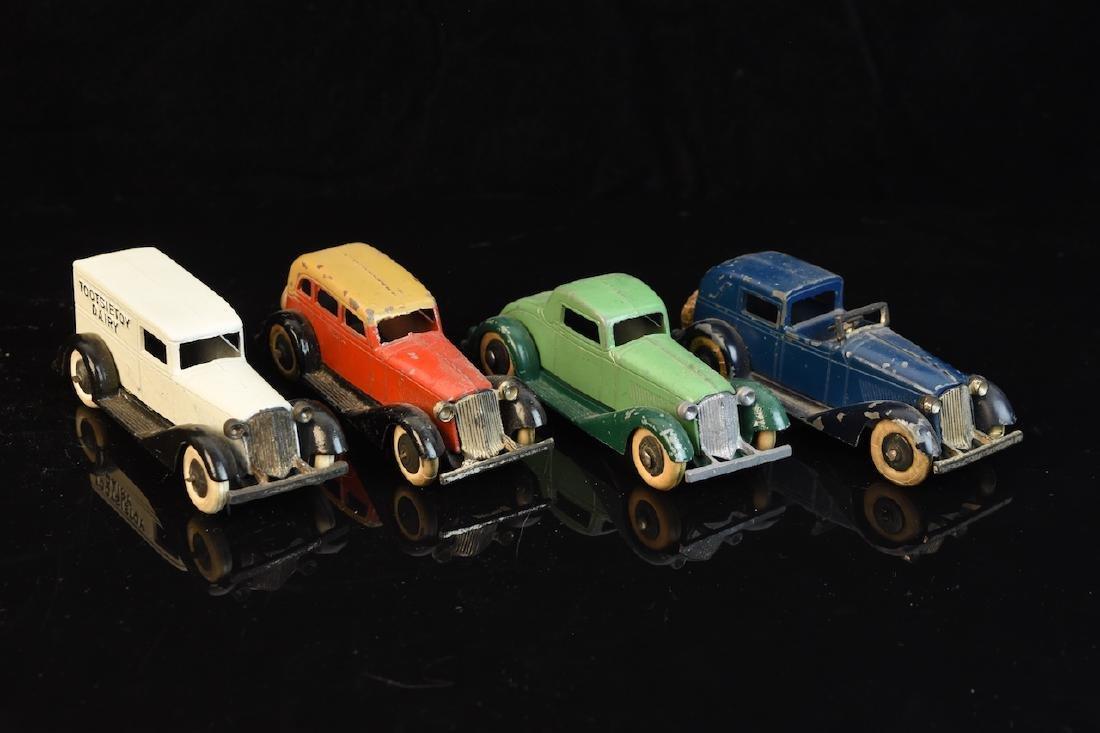 (4) Tootsietoy Graham Cars