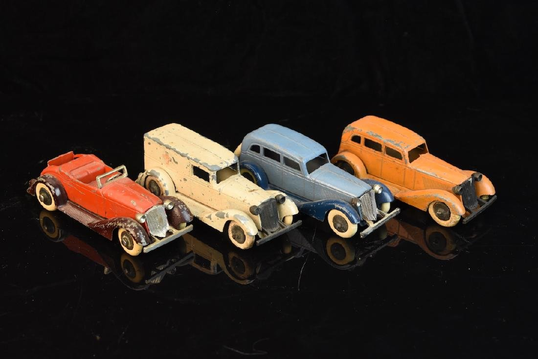 (4) Tootsietoy Graham Toy Cars