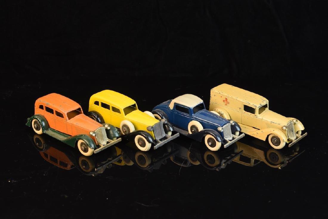(4) 1930's Tootsietoy Graham Cars