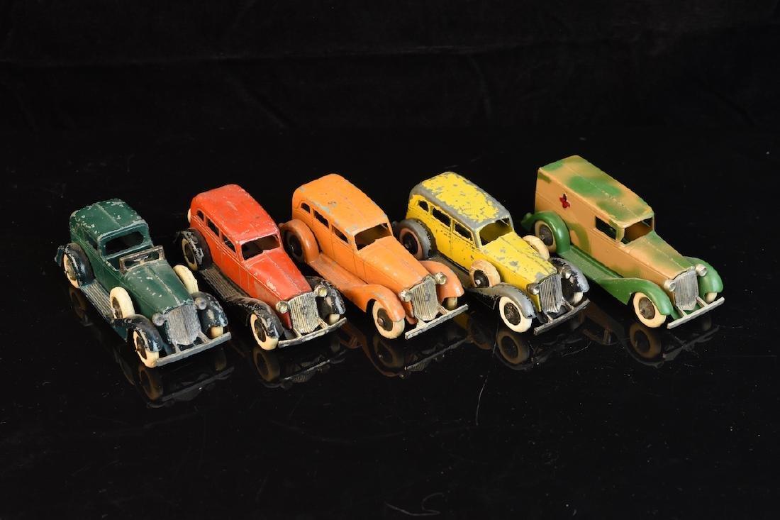 (5) Tootsietoy Graham Toy Cars