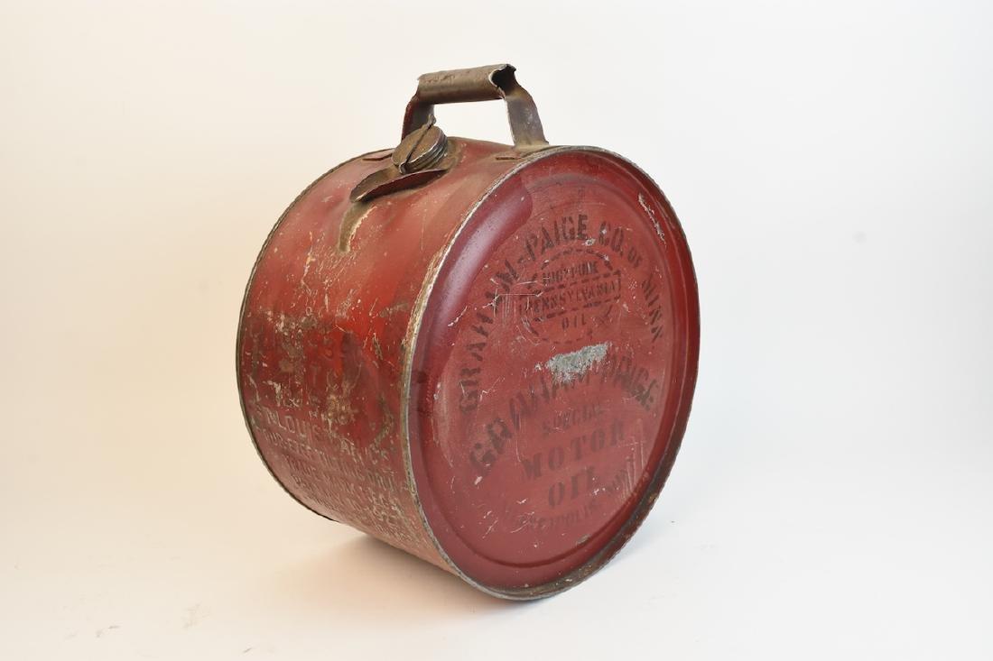 1930's Graham Paige Rocker Oil Can