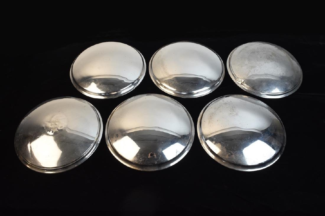 Set of (6) Graham Hollywood Hubcaps