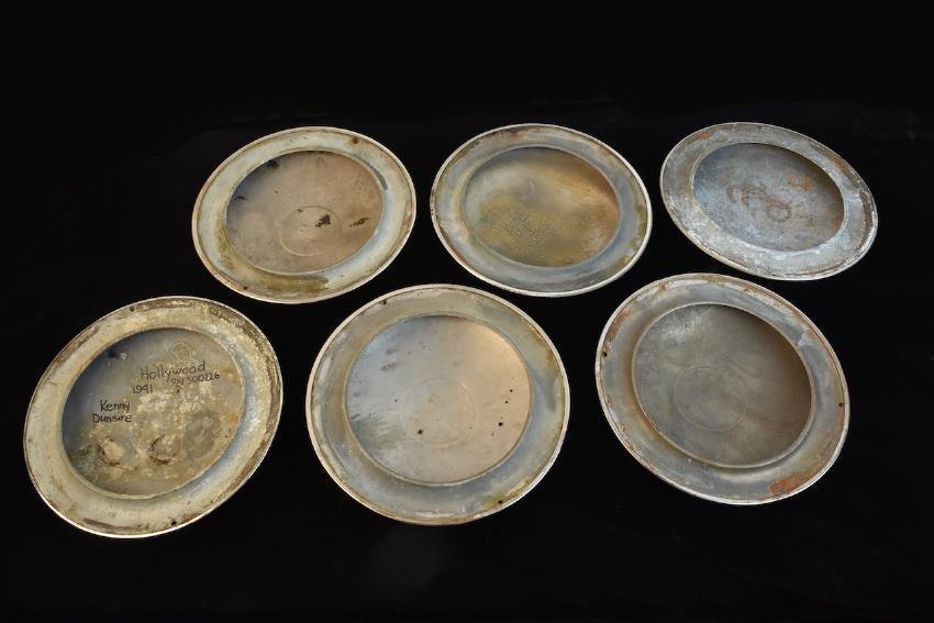 Set of (6) Graham Hollywood Hubcaps - 7