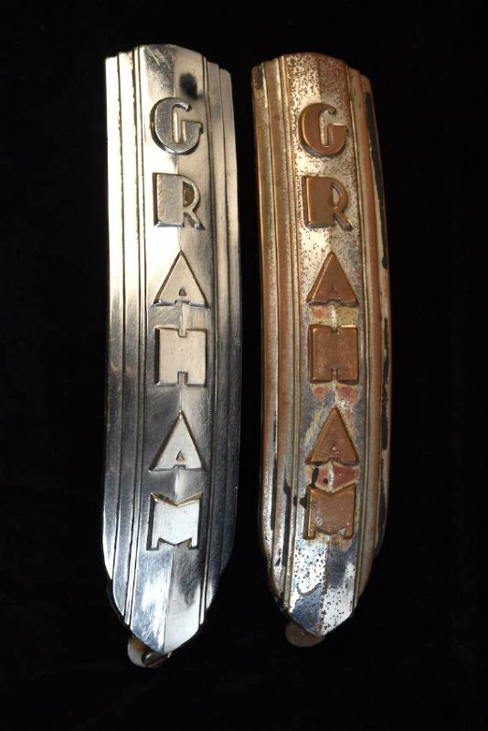 RARE Graham Sharknose Lower Grill Emblems