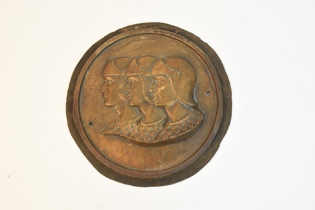 Graham-Paige Bronze Plaque