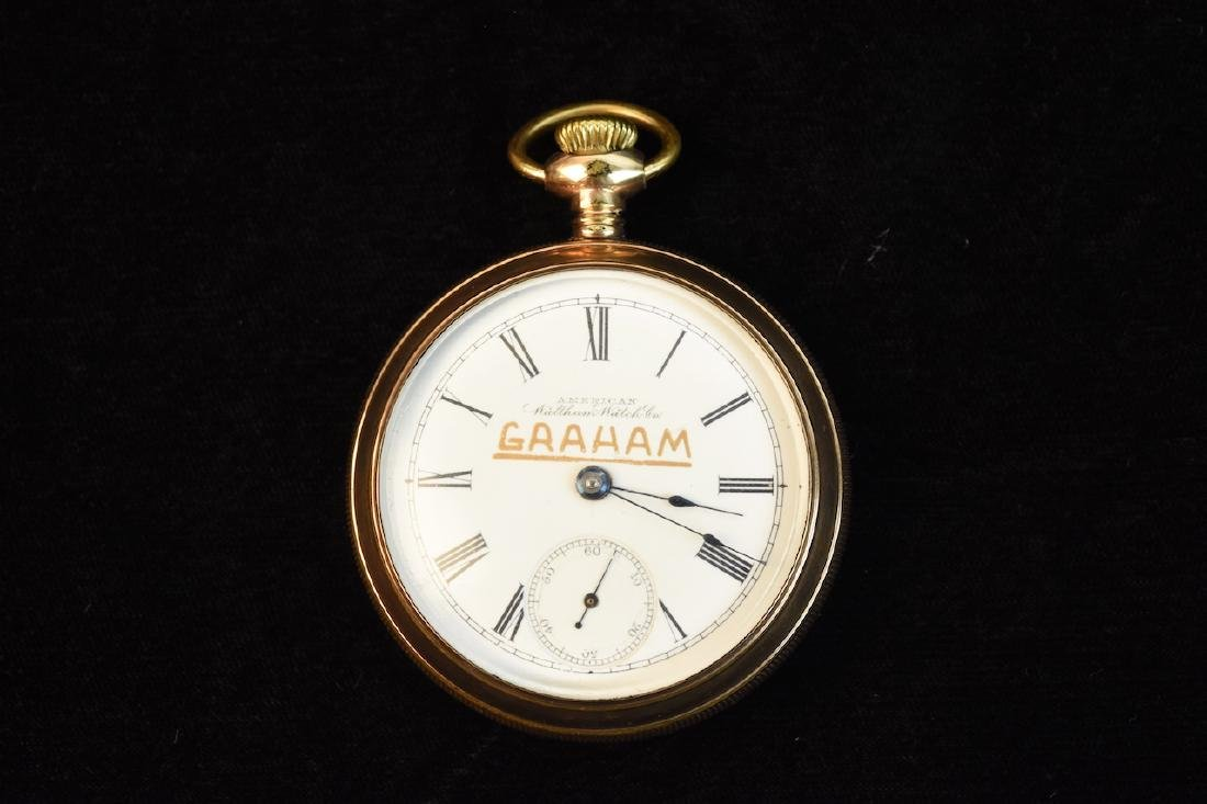 Graham Retirement Pocket Watch; Waltham; 17 Jewels