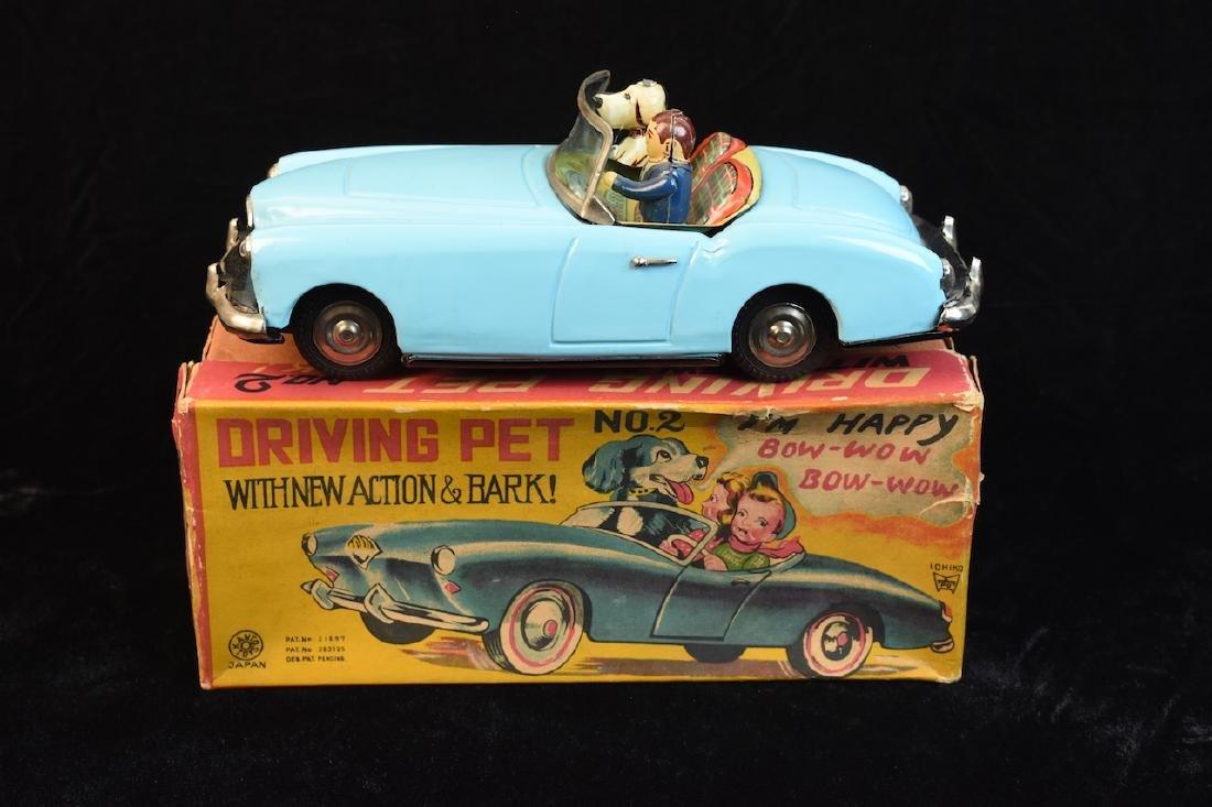 Kanto Toy No. 2 Tin Litho Friction Car