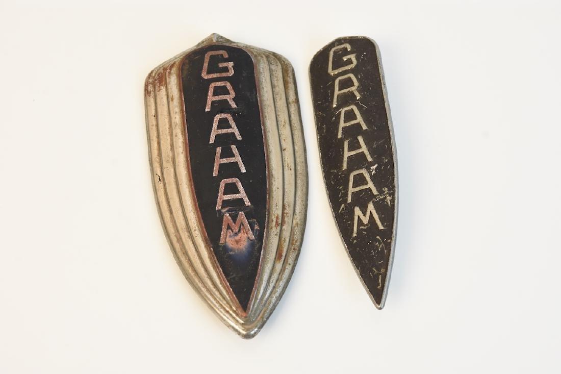 (2) Graham Lower Grill Emblems