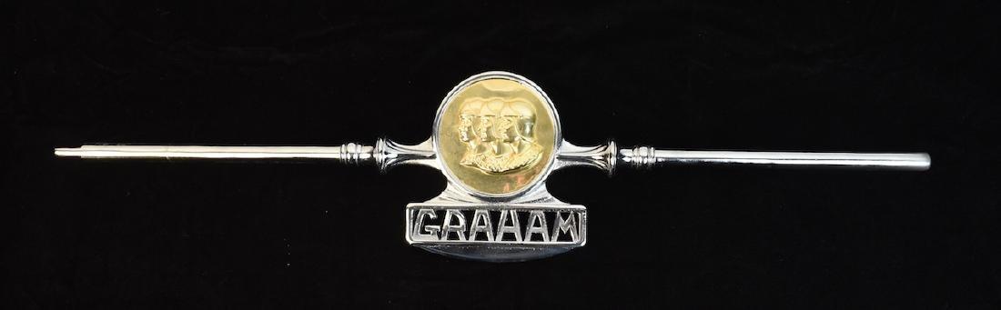 1930's Graham Radiator Headlight Crossbar