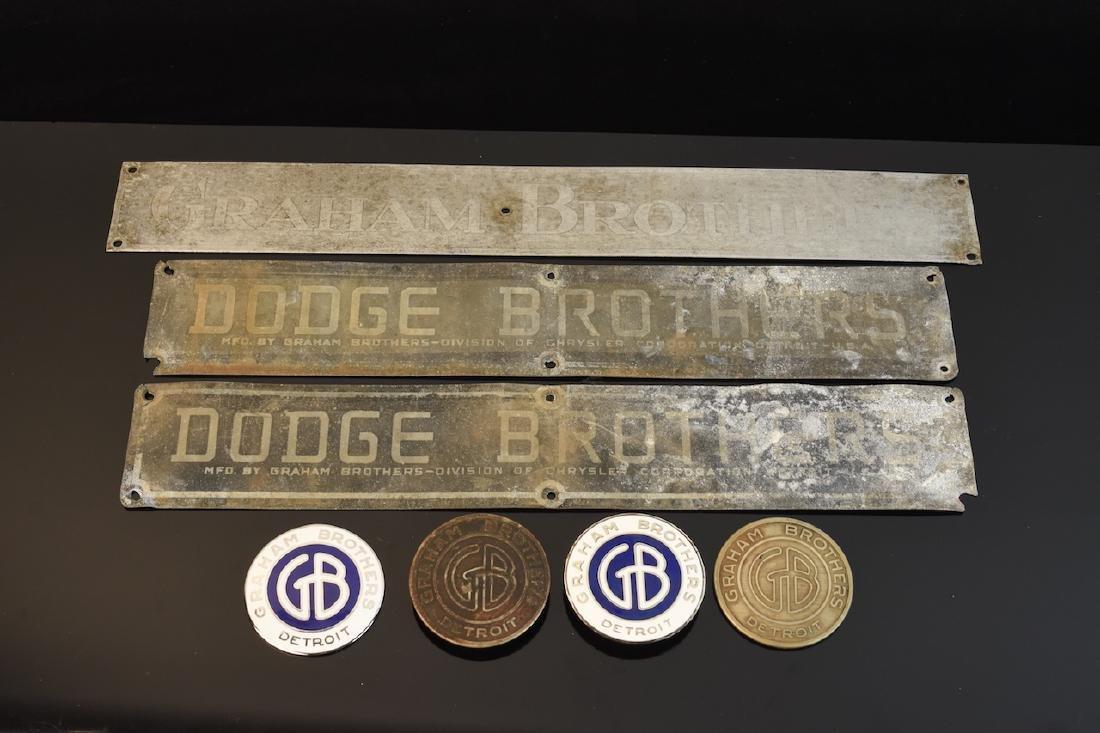 Graham Brothers Truck Emblems & Badges