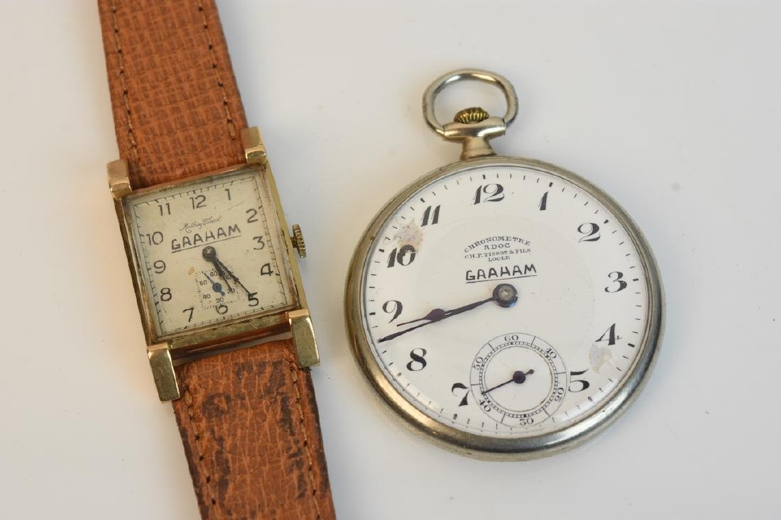 Graham Retirement Pocket & Wrist Watch