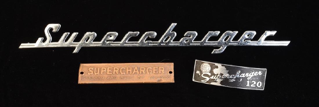 (3) Graham Supercharger Ornaments