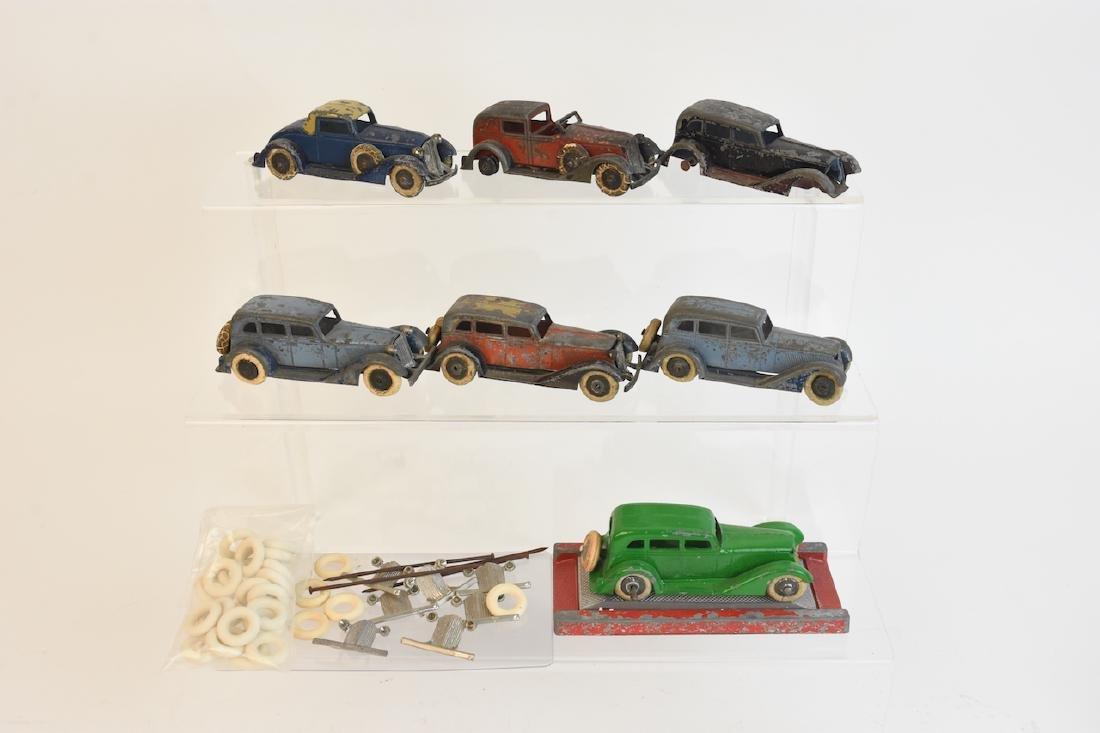 (7) Assorted Tootsietoy Graham Metal Cars