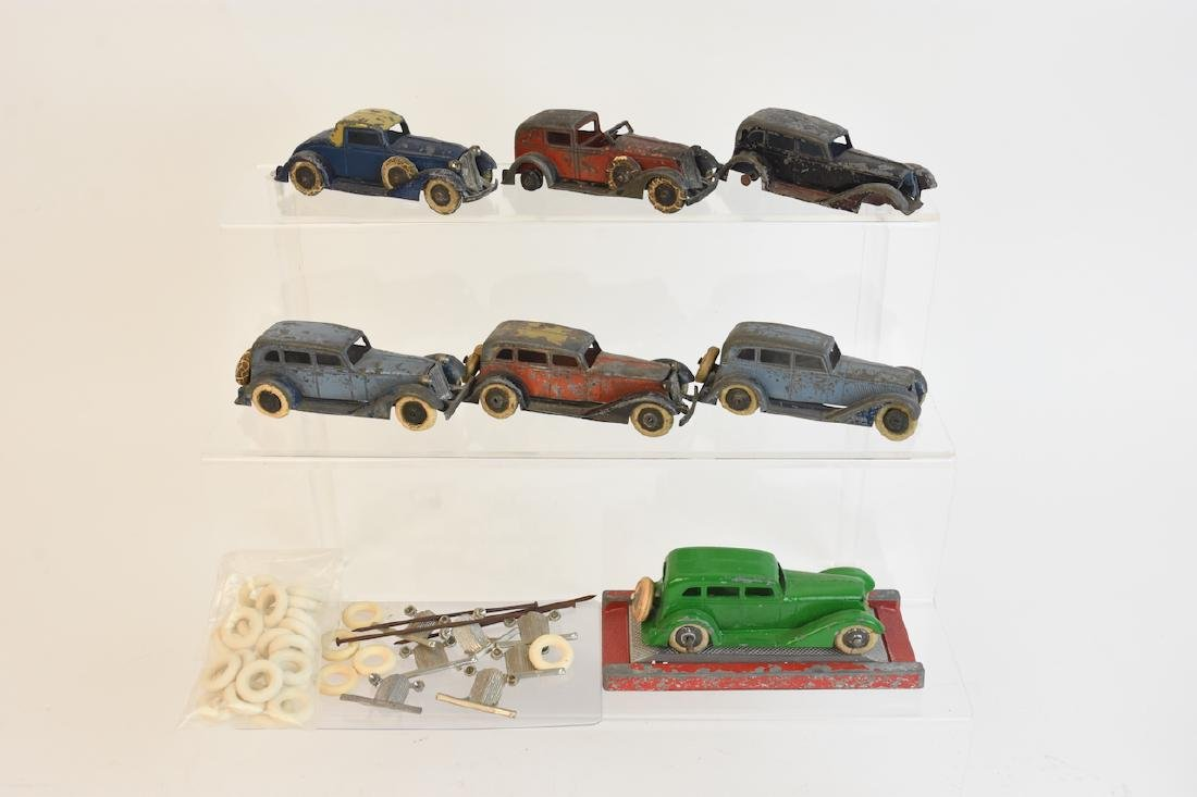 (7) Assorted Tootsietoy Graham Metal Cars