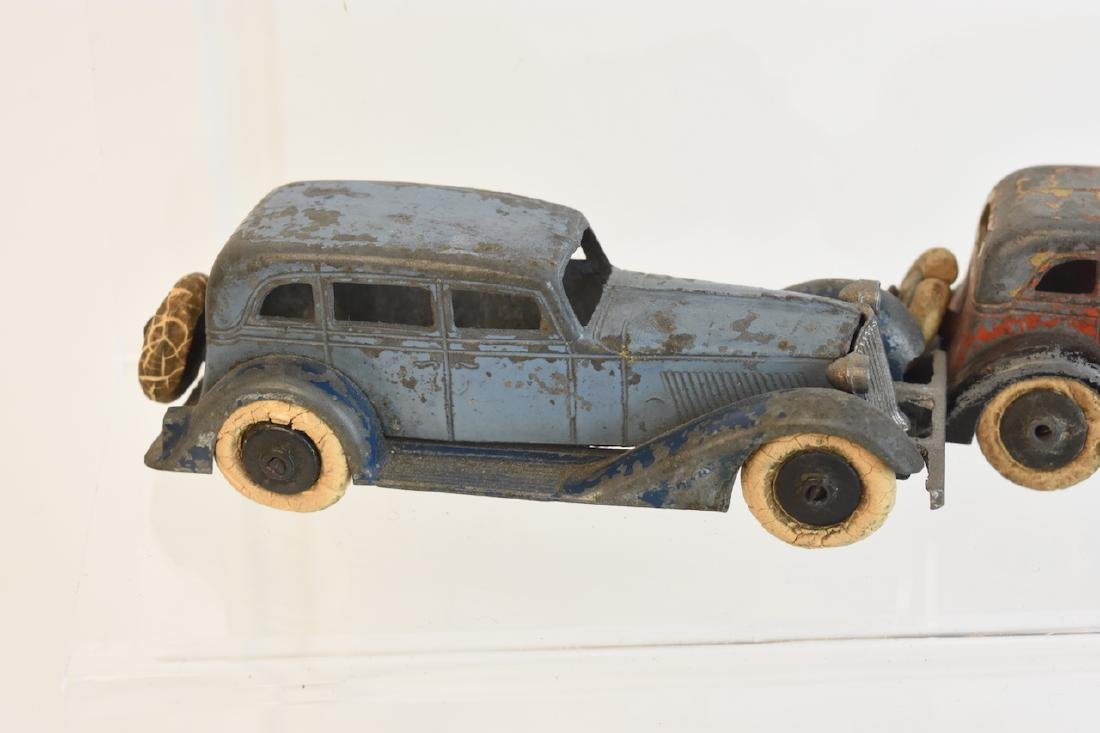 (7) Assorted Tootsietoy Graham Metal Cars - 8