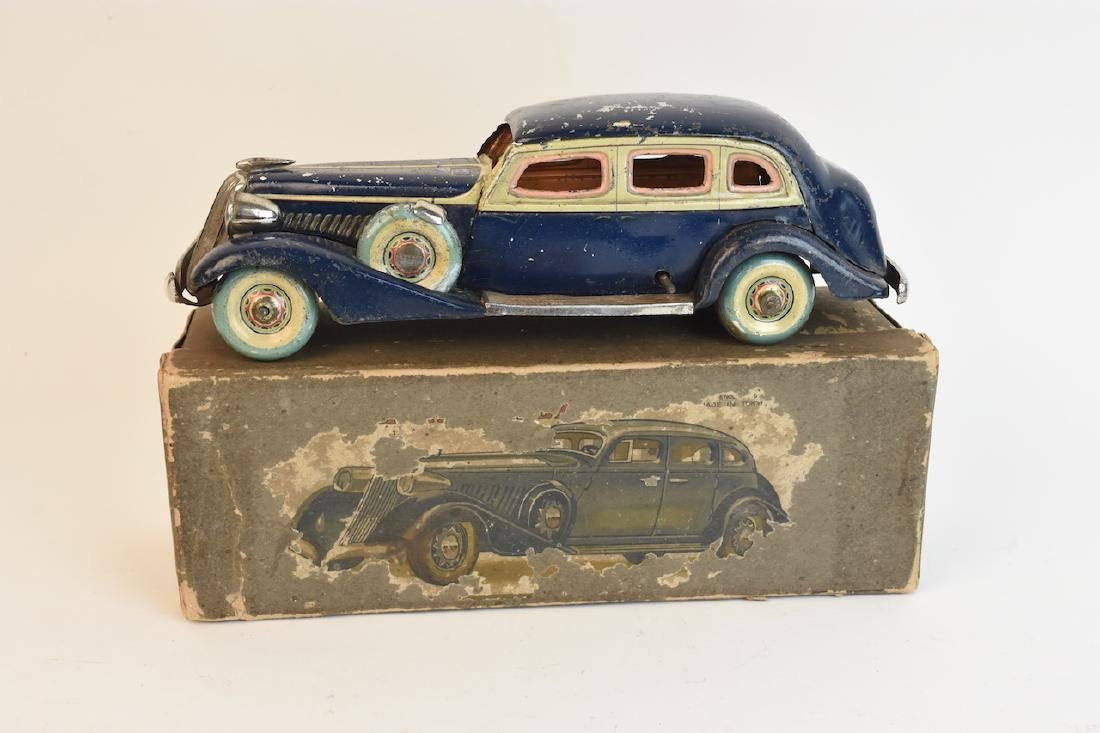 RARE Pre-War CK Tinplate Graham-Paige Toy Car
